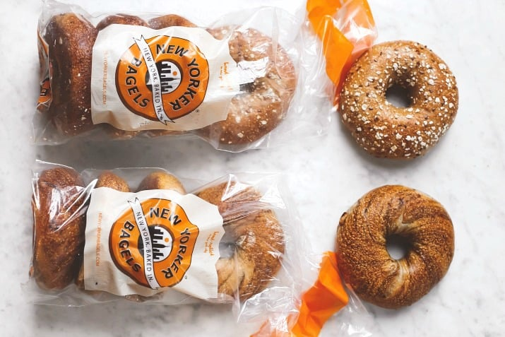 Set up a Holiday Bagel Breakfast Bar with New Yorker bagels