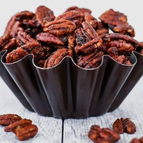 sweet spicy pecans recipe