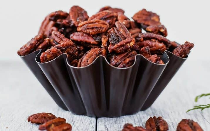 Sweet & Spicy Pecans Party Recipe for Entertaining