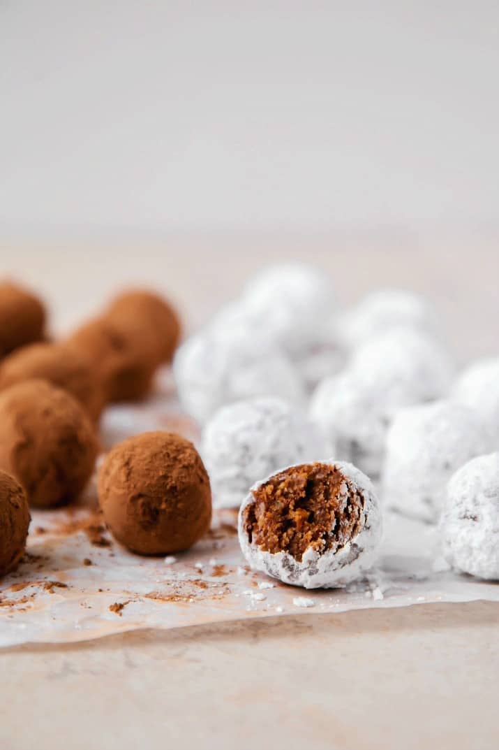 bourbon balls recipe with bite taken