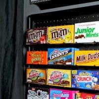 DIY Media Room Candy Display