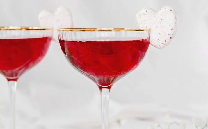 Sweetheart Valentines Day Cocktail