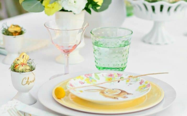 Easter Brunch Entertaining Menu & Tablescape