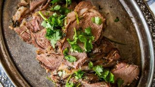 Italian Marinated Leg of Lamb
