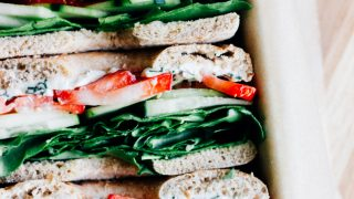Picnic Veggie Sandwich