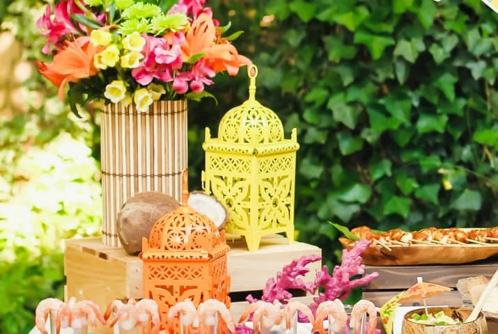 Tropical Themed Party Ideas