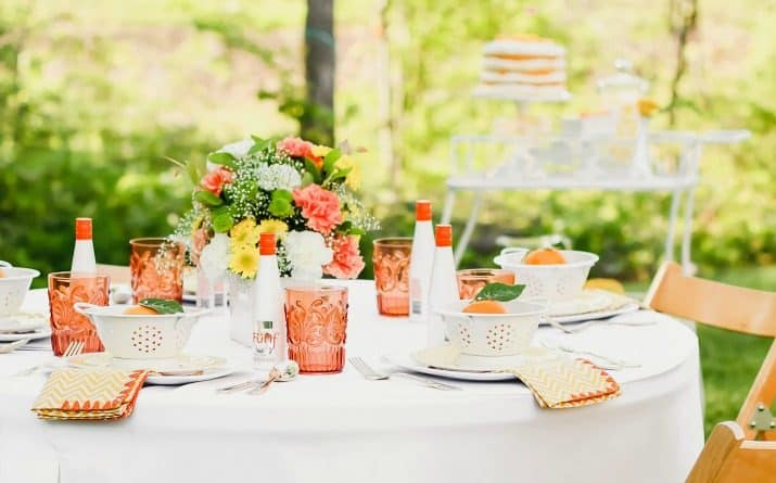Easy Ideas For A Garden Party Outside
