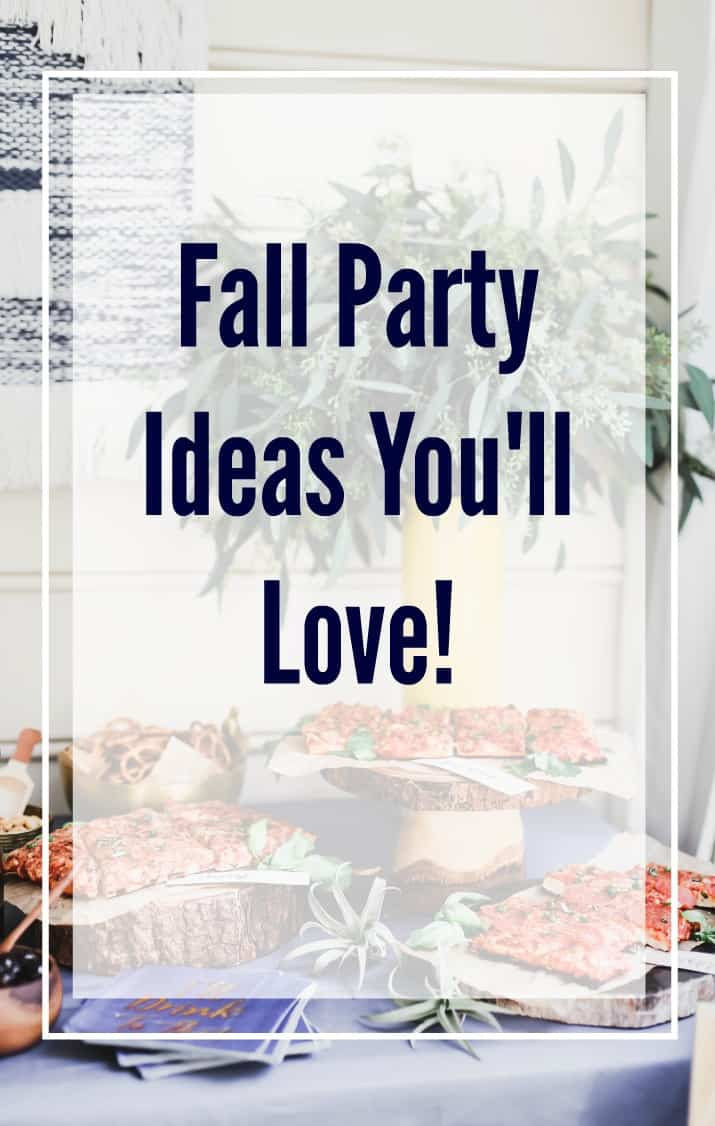 party themes for fall