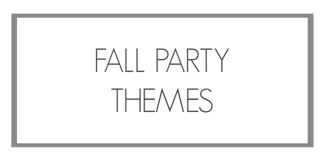 fall party themes list