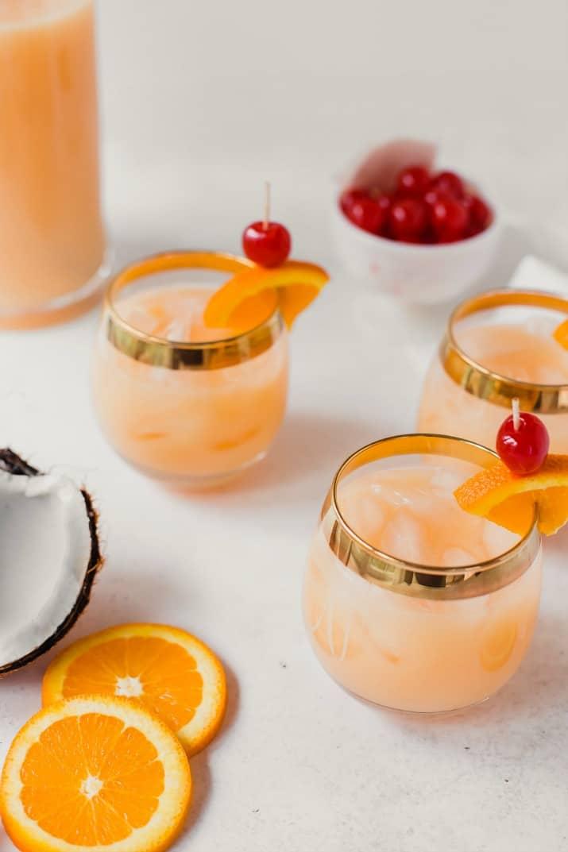 rum ambrosia punch