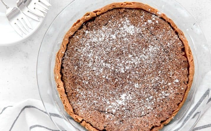 This Chocolate Chess Pie Should Be On Your Holiday Dessert Table