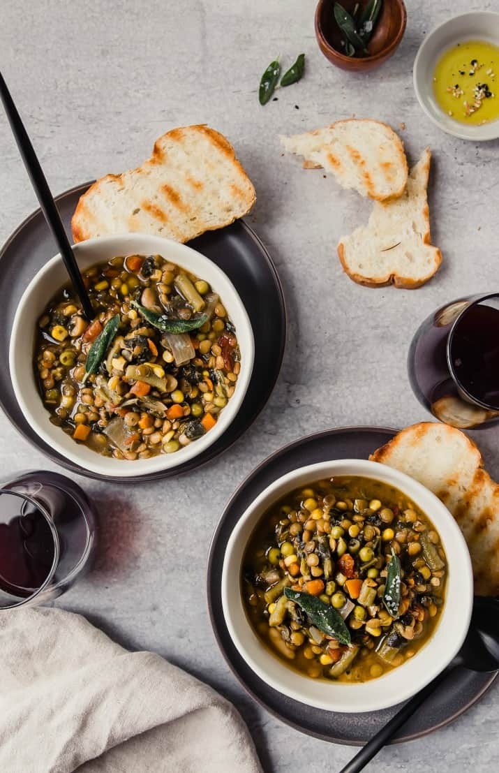 vegetarian soup recipe for a crowd