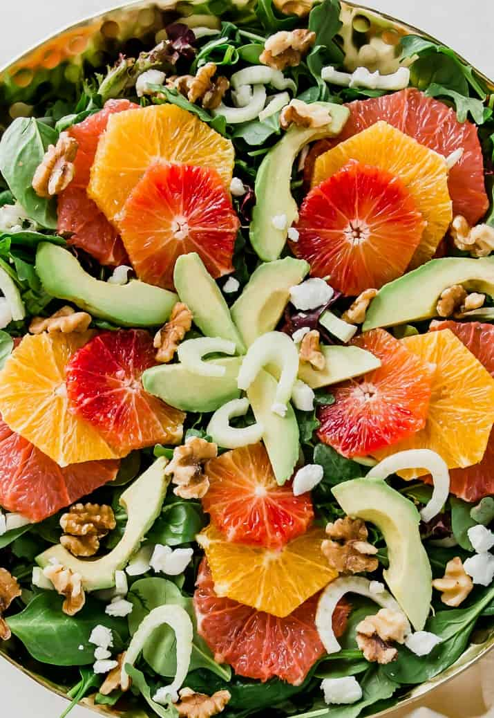 easy dinner party salad