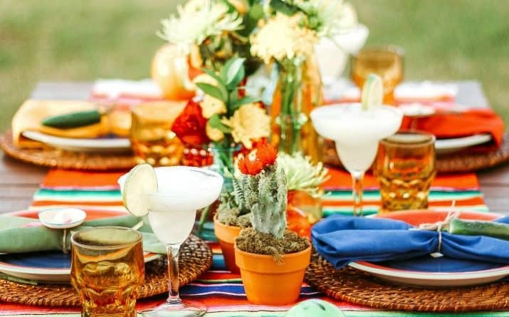Mexican Party Ideas and Fiesta Themed Tablescape