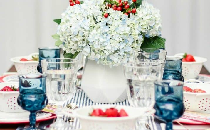How to Set a 4th of July Tablescape to WOW Your Party Guests