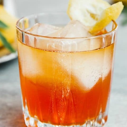 Aperol and bourbon cocktail recipe