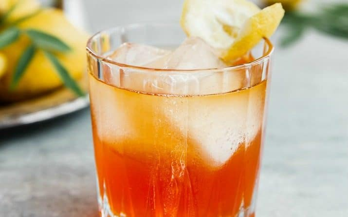Sip on this Bourbon Aperol Cocktail recipe all year long