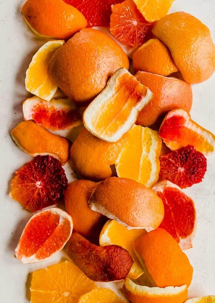 orange peels photography