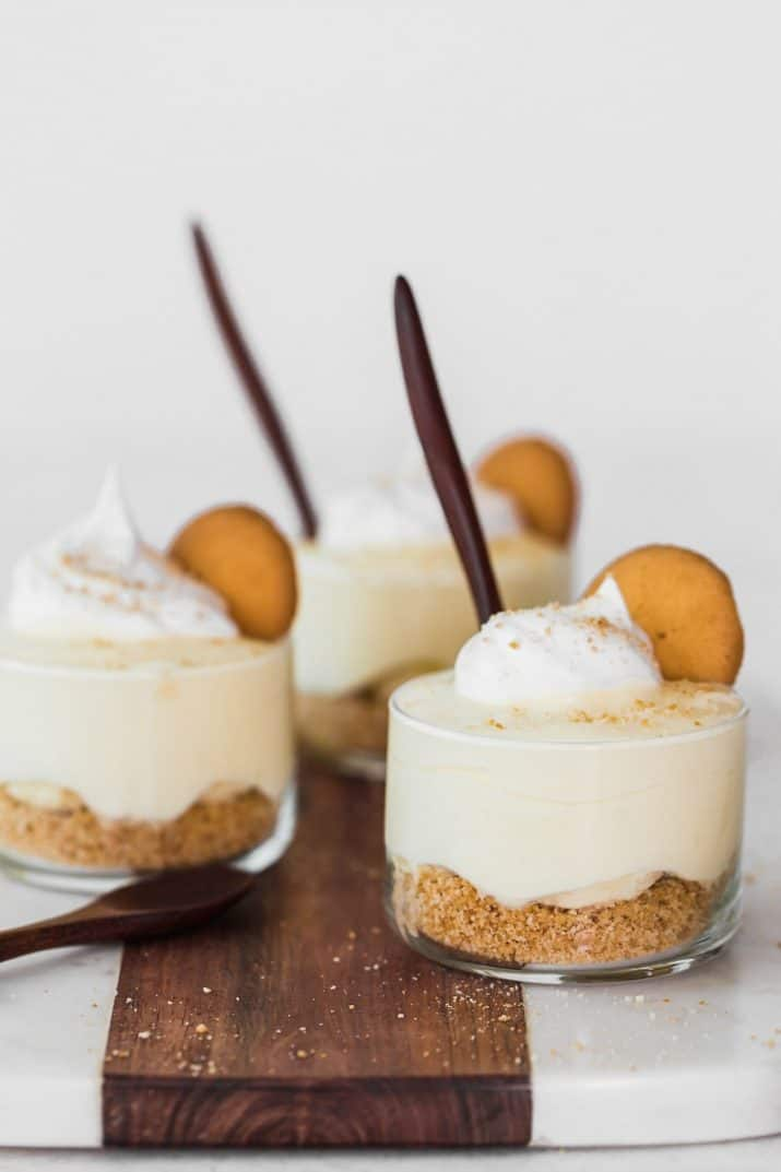 dessert cups photography