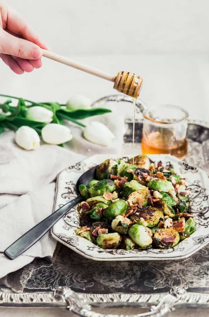 brussels sprouts food photography
