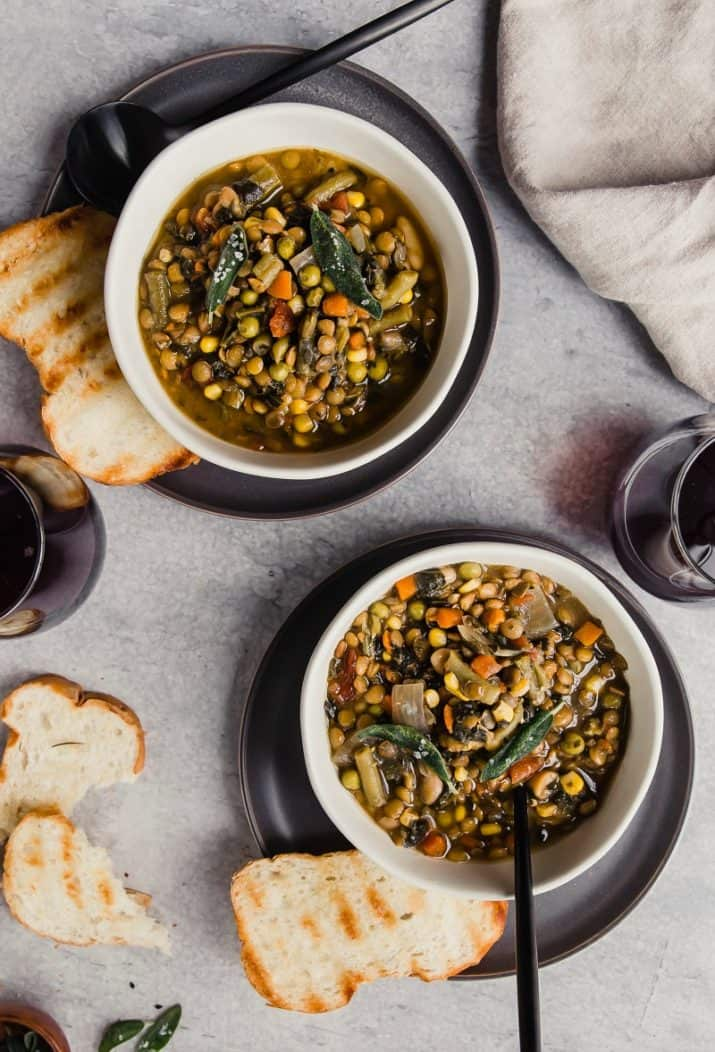 soup bowls food photography