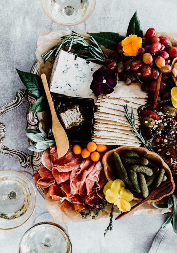 cheese board photography