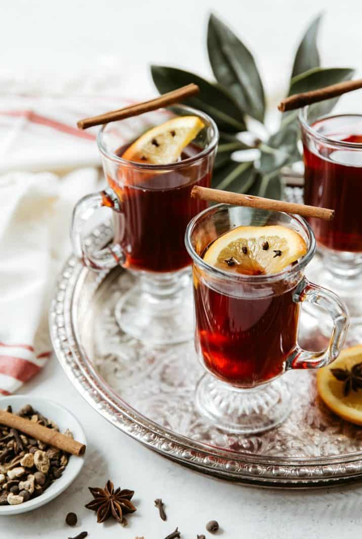 mulled wine photography