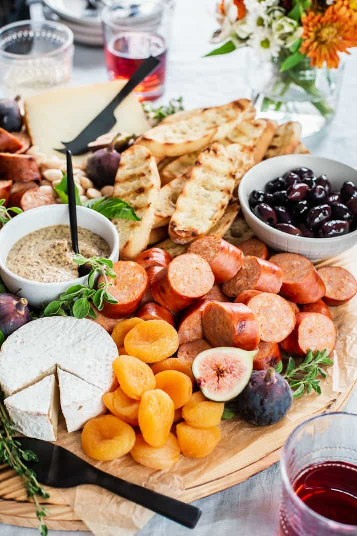 charcuterie and cheese party