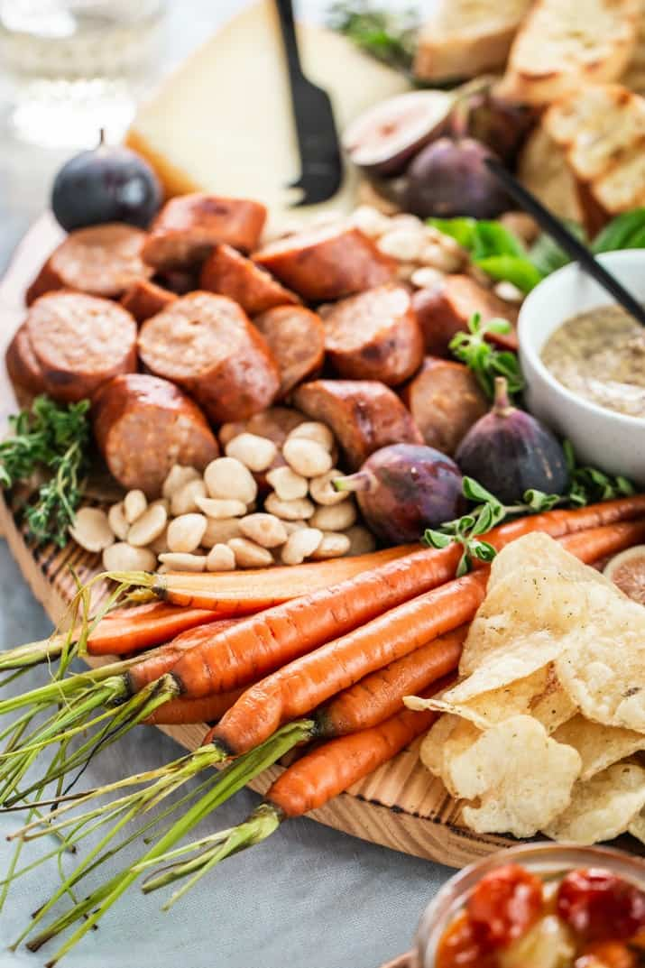 what to serve with a charcuterie board