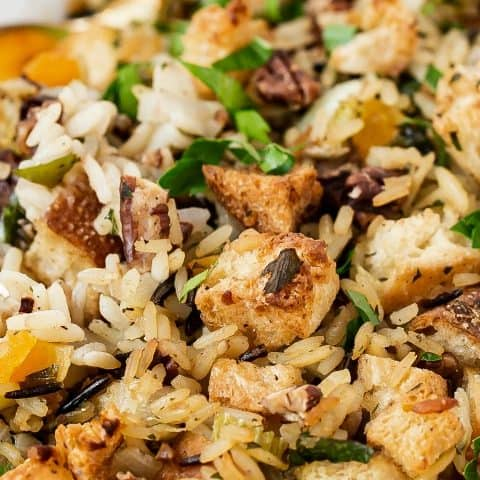 wild rice dressing recipe